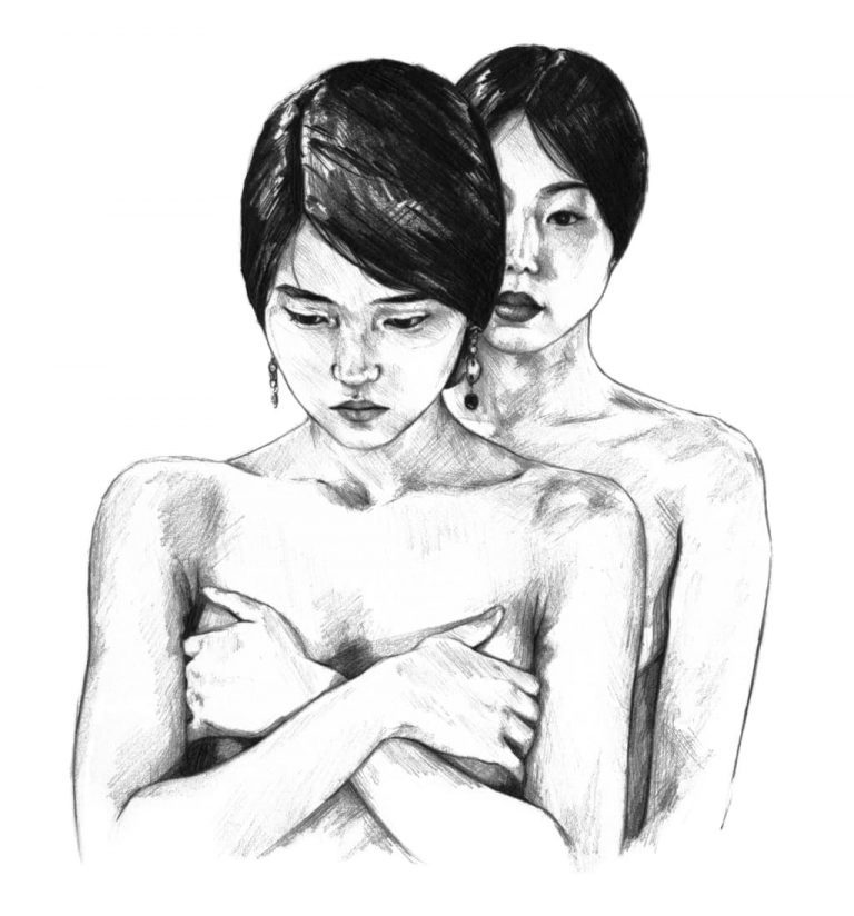 Retrato a lápiz de The Handmaiden, una película de Park Chan Wook