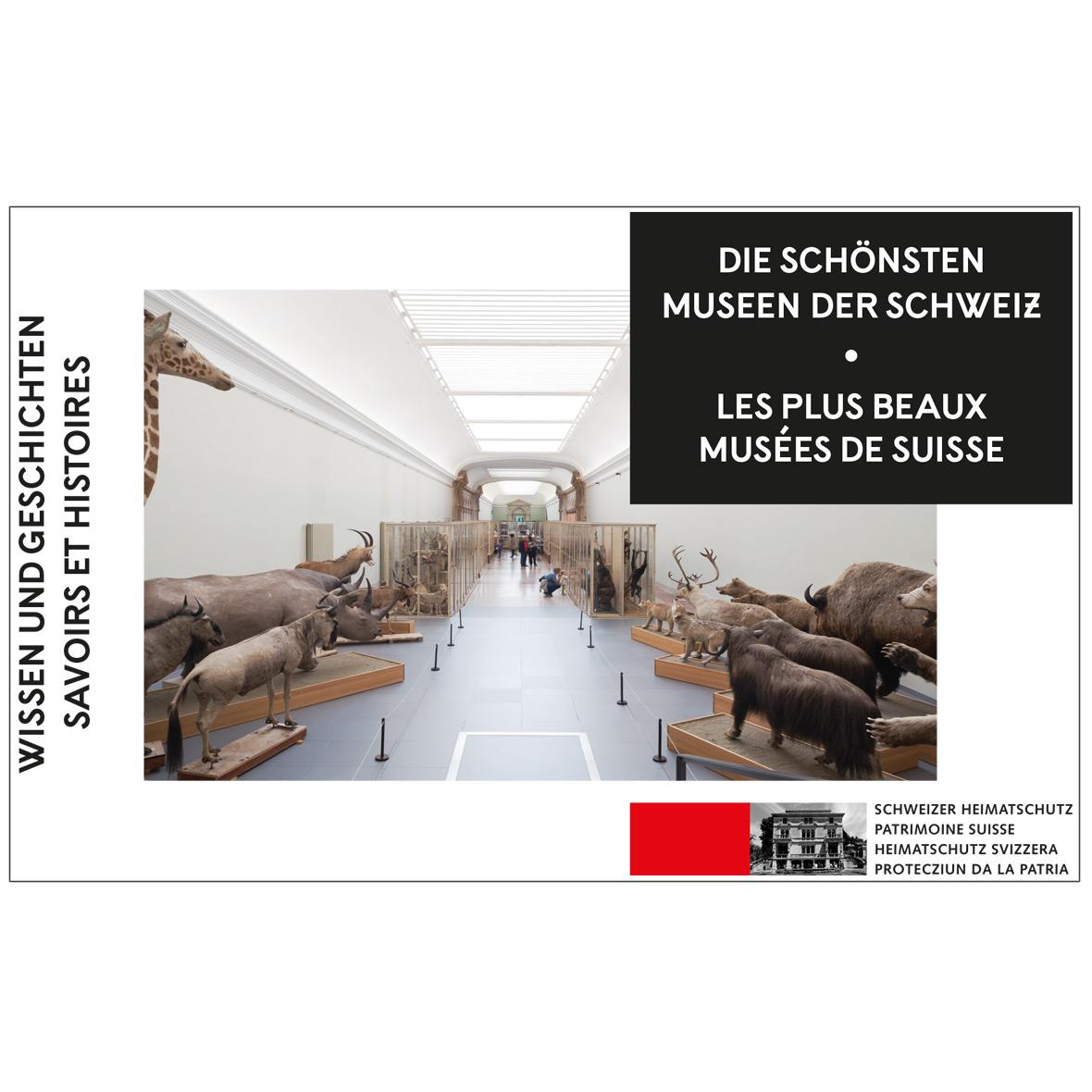 Die schönsten Museen der Schweiz, Handbuch
