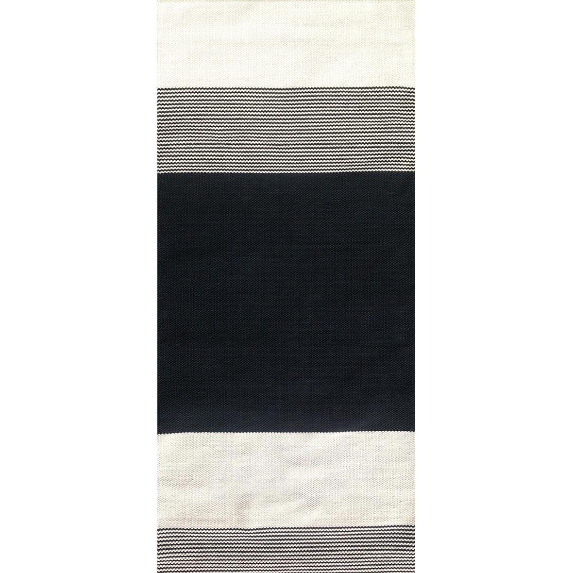 Teppich, handgeknüpft, Anna Saarinen, Arkki, schwarz-weiss
