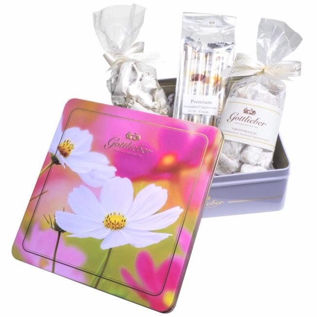 Gottlieber Schokolade Geschenkset Blumensymphonie