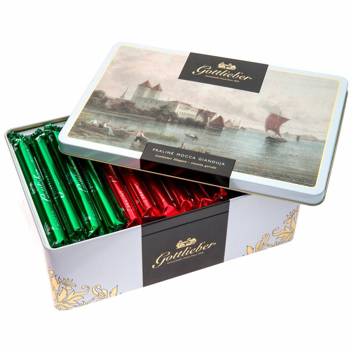 Gottlieber Schokolade Hüppen Geschenkdose