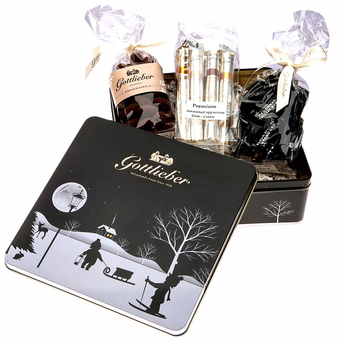 Gottlieber Schokolade Geschenkset Winter