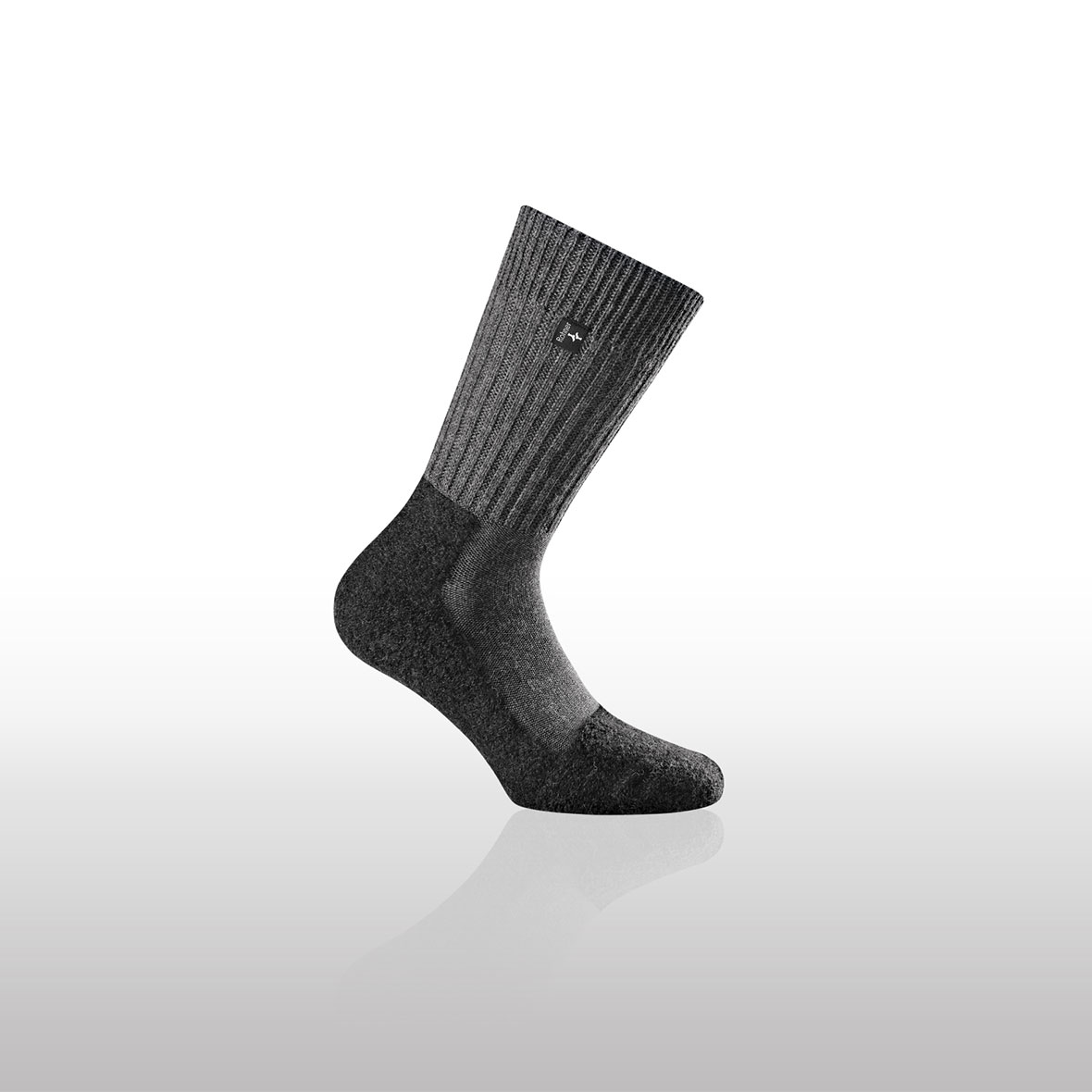 Wandersocken original, Rohner Socken, grau