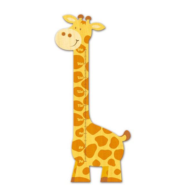 Messlatte Giraffe für Kinder von Weizenkorn