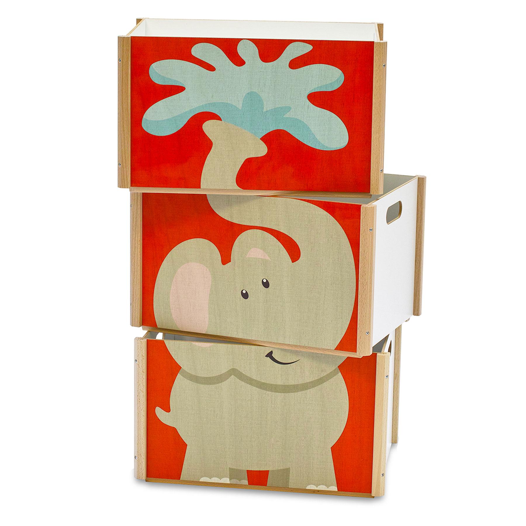 Stapelbox Elefant für Kinder