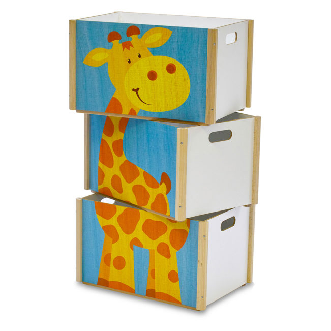 stapelbox giraffe 3 boxen. Black Bedroom Furniture Sets. Home Design Ideas