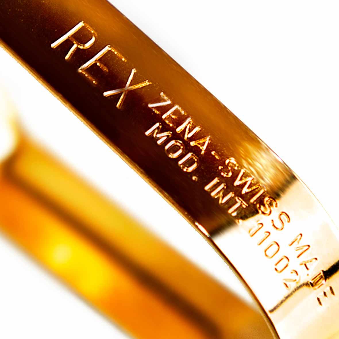 gold sparschaeler ausschnitt zena