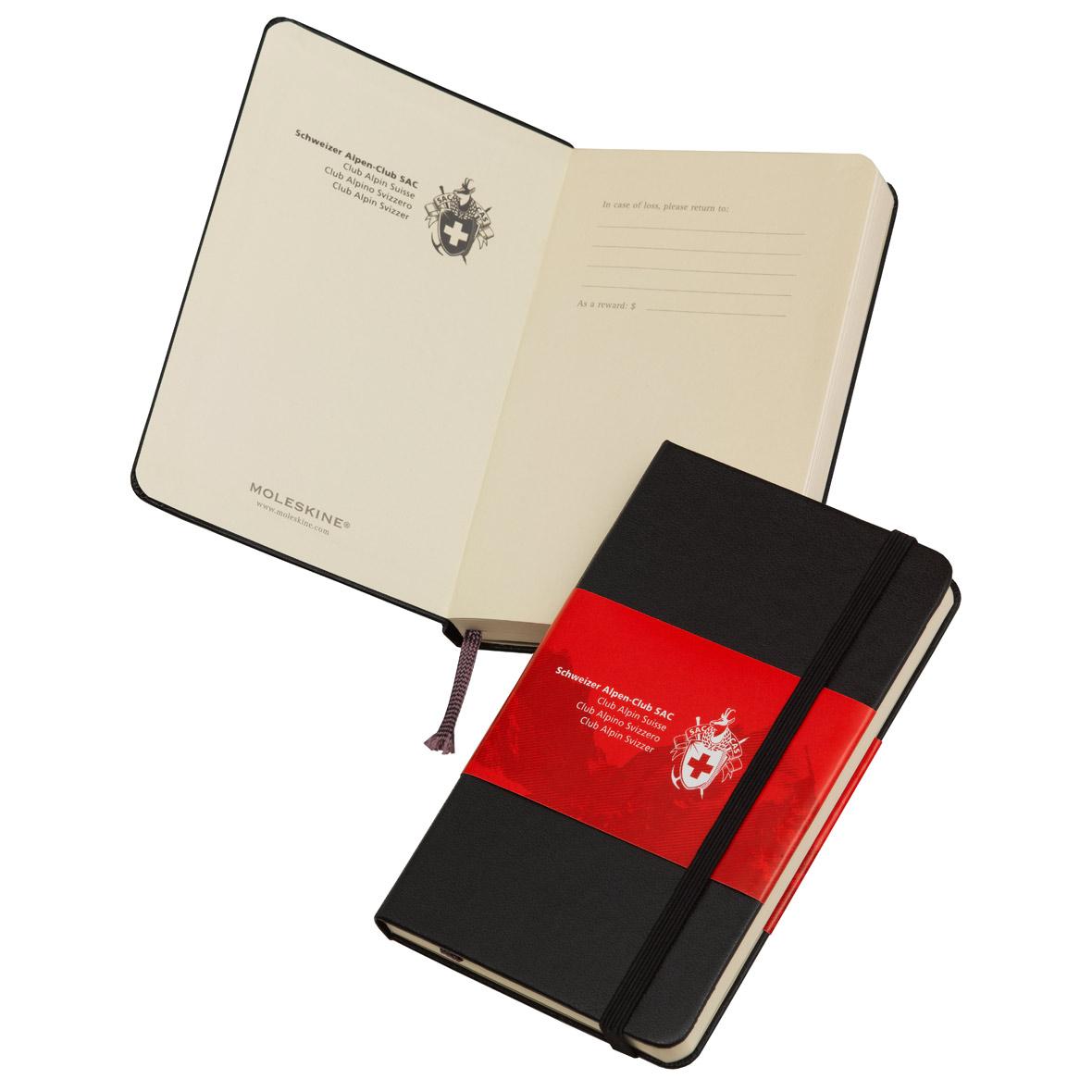 Moleskine-Notizbuch, schwarz SAC