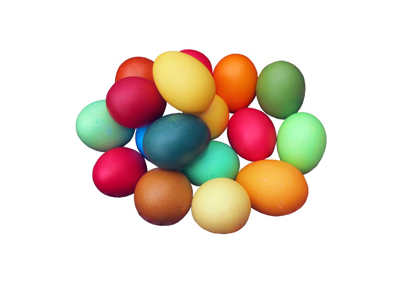 Osterbräuche: Farbige Ostereier
