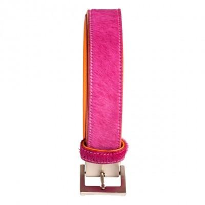 Fellgürtel Pink