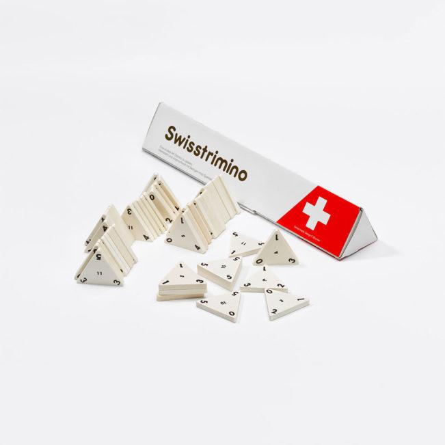 Swisstrimino Standard von Ahorn Holz und Spiel