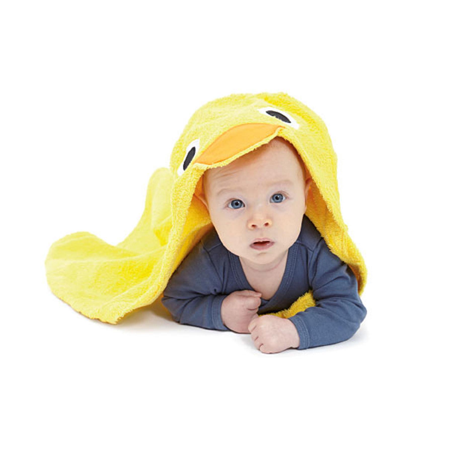 babybadetuch ente von contact holz und textil