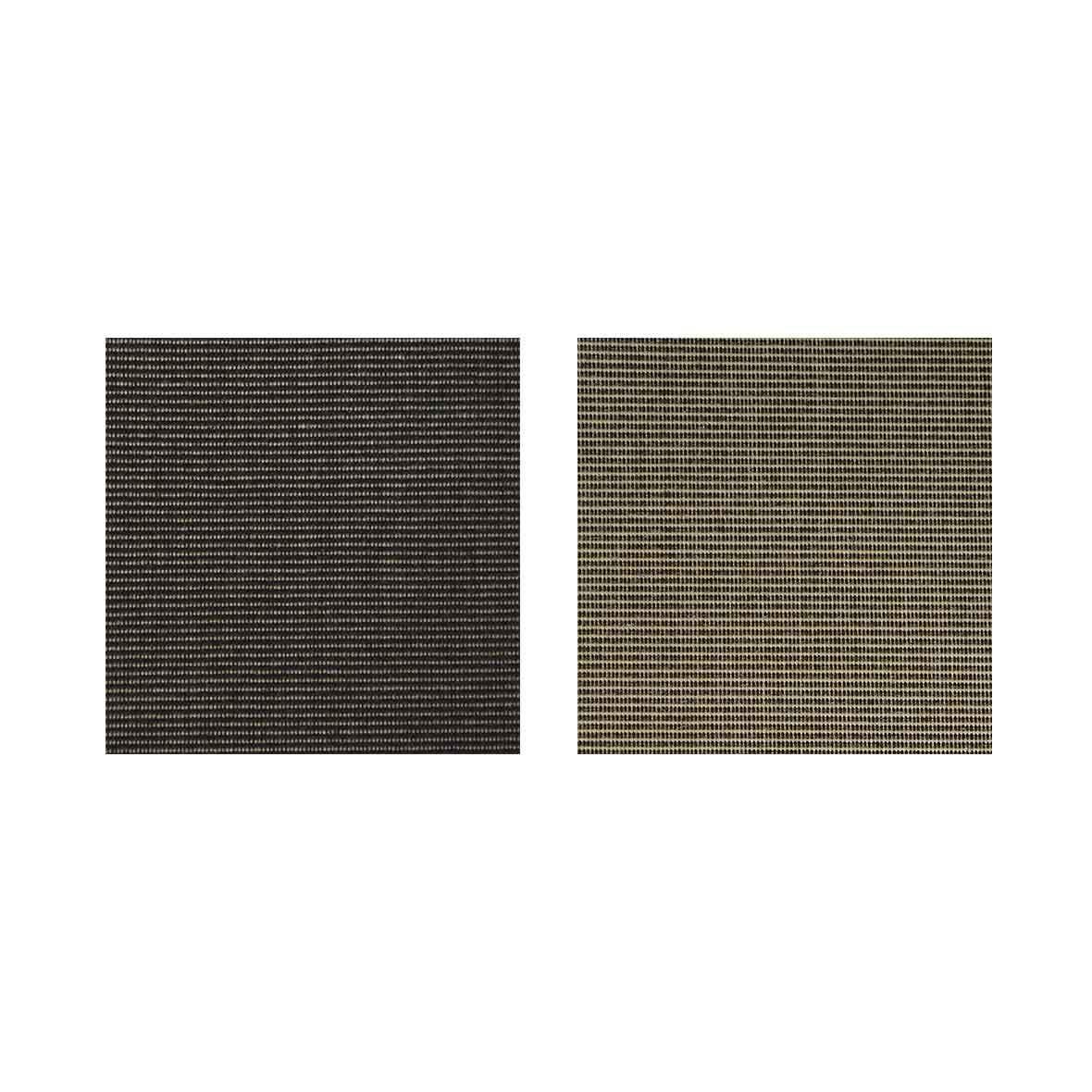 Farbmuster Liegestuhl Hocker-Set von Contact Arbeit Holz + Textil
