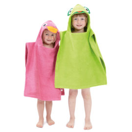 kinderbademaenteli-l triva holz und textil