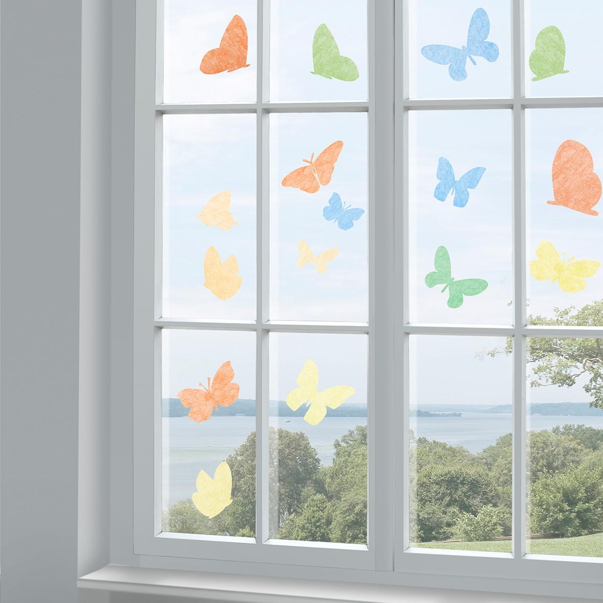 Fenstersticker Gecko Farfalla