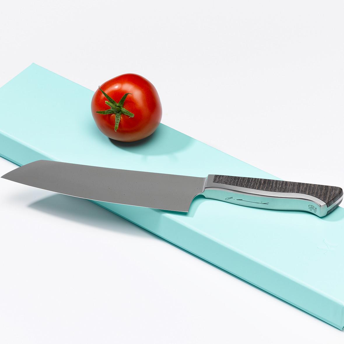 Caminada Santoku Esche von Welt der Messer