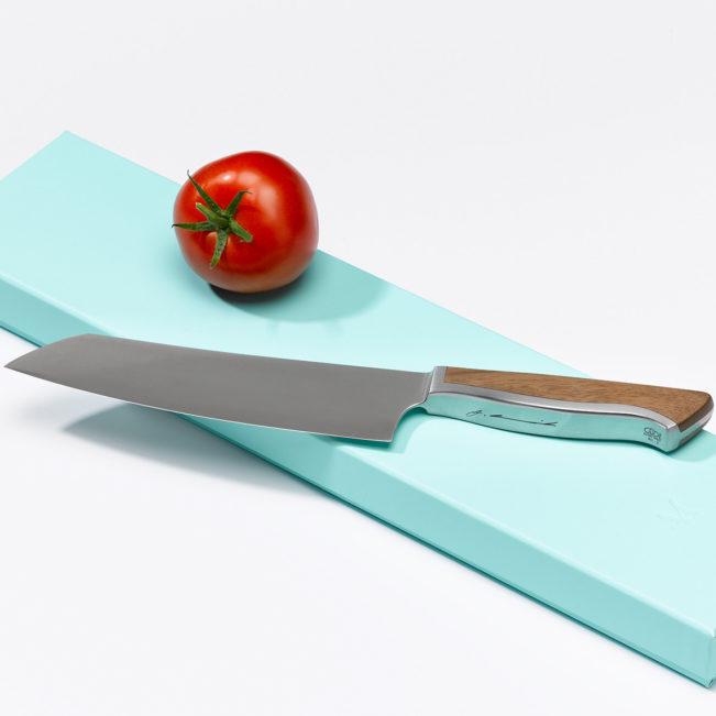 Caminada Santoku Walnuss von Welt der Messer