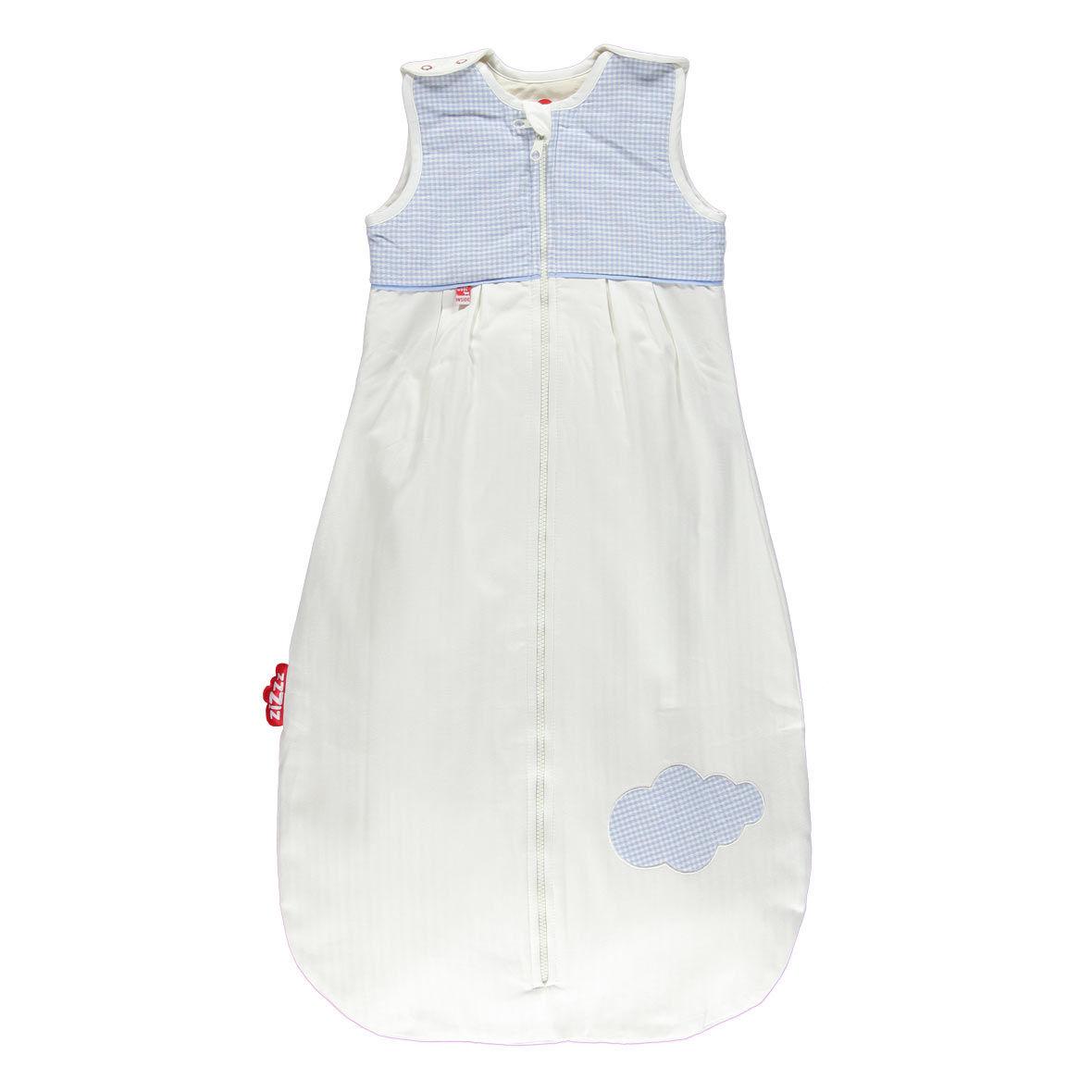 Babyschlafsack Swisswool von Zizzz, blau, 6-24 Monate