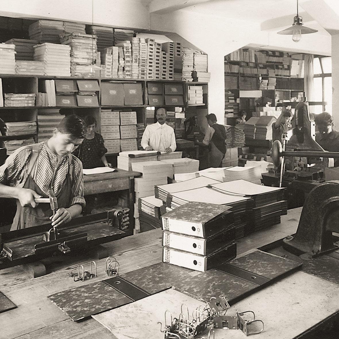 Biella Produktion in den Zwanziger Jahre
