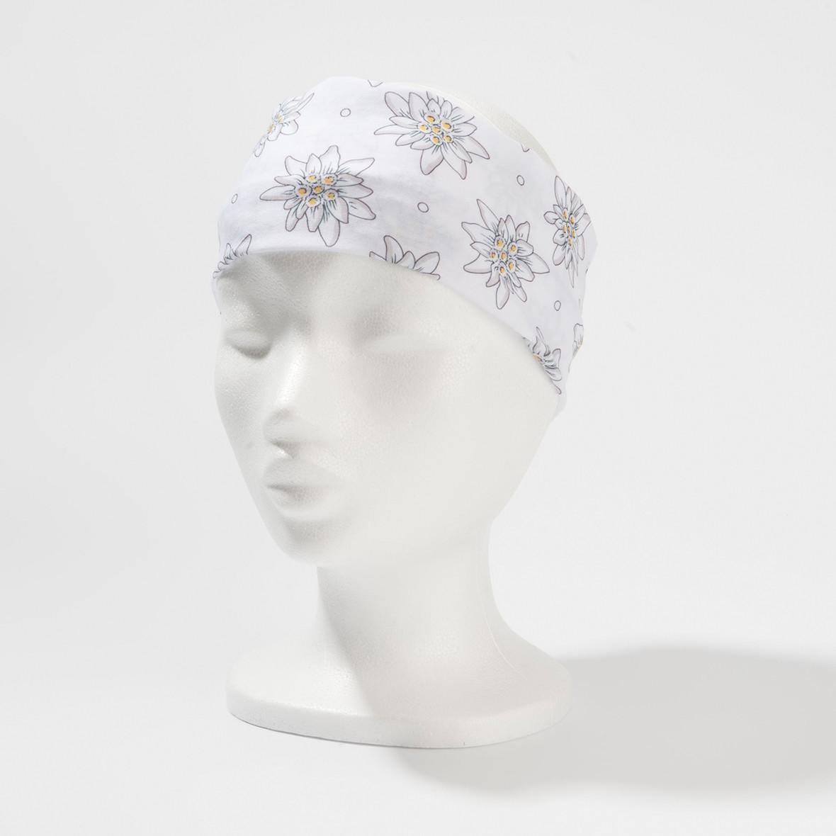 Stirnband Edelweiss Weiss