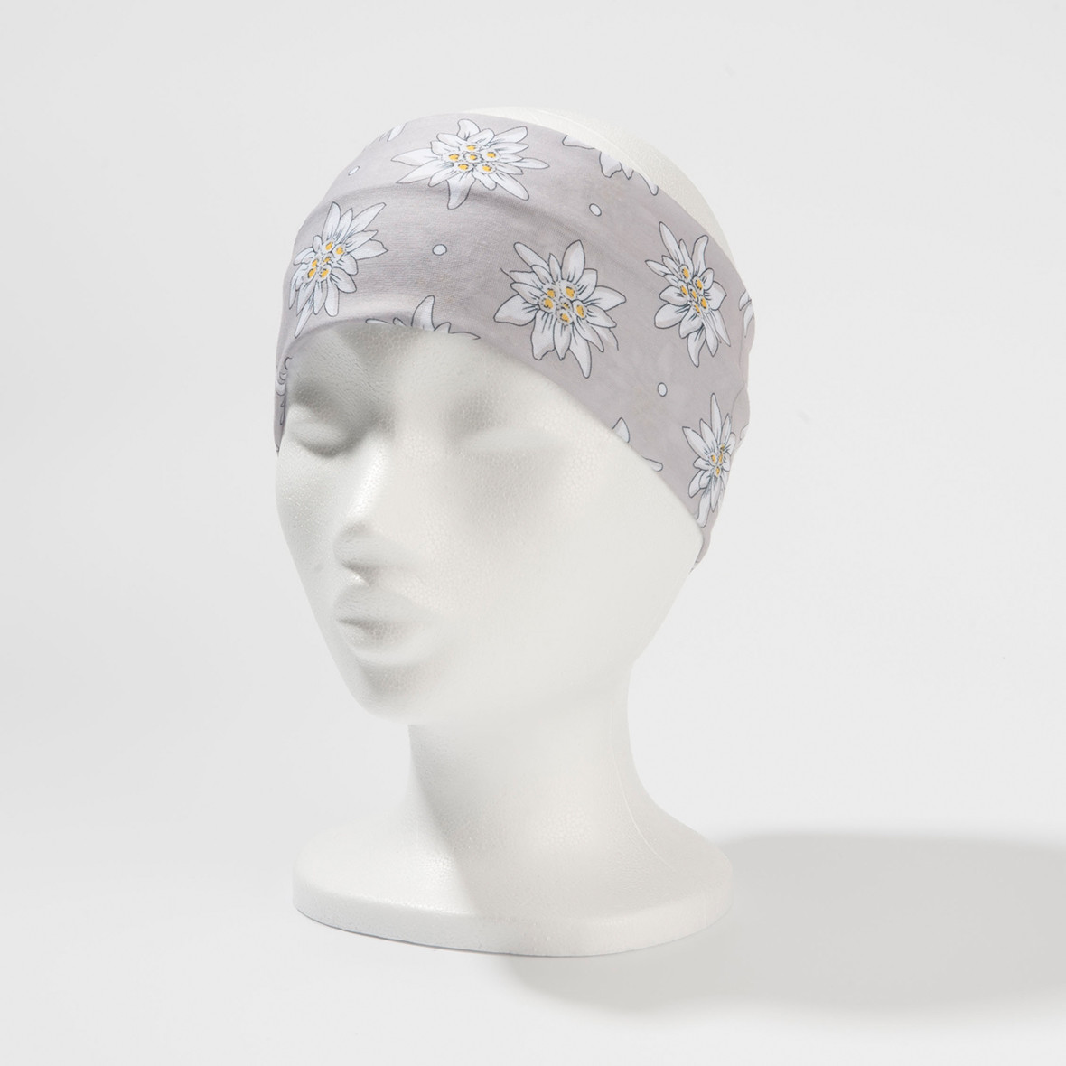 Stirnband Edelweiss Silber