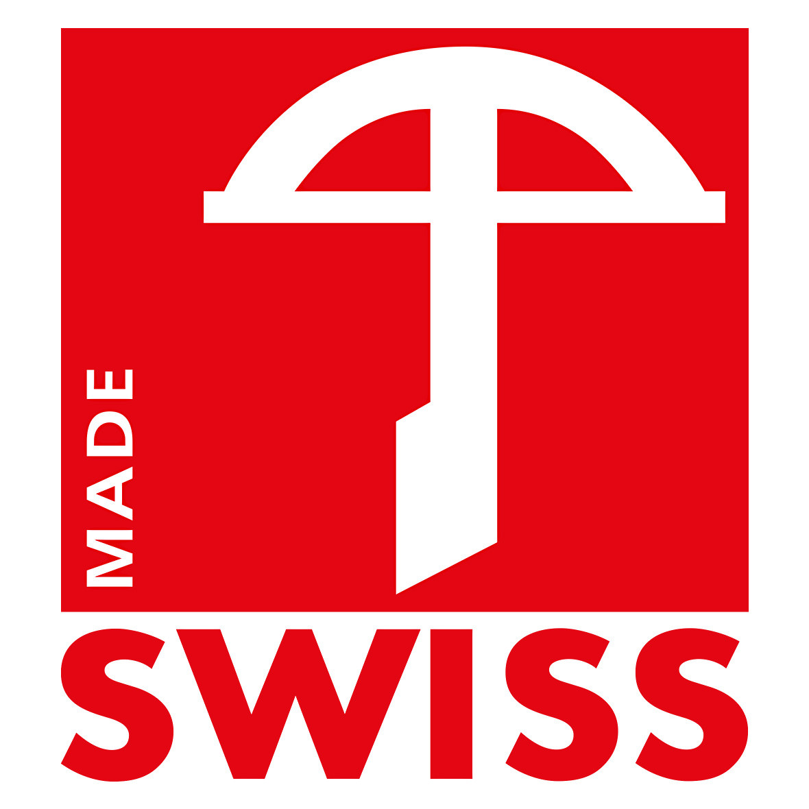 Swiss Made - Armbrustlabel