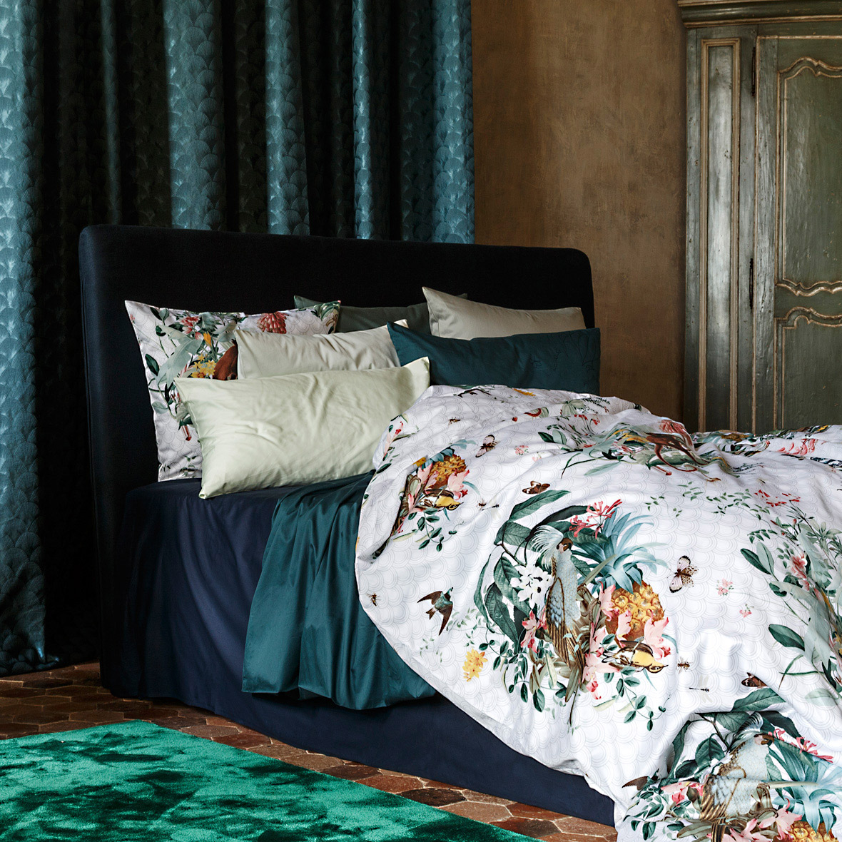 christian fischbacher bettw sche i bei bestswiss. Black Bedroom Furniture Sets. Home Design Ideas