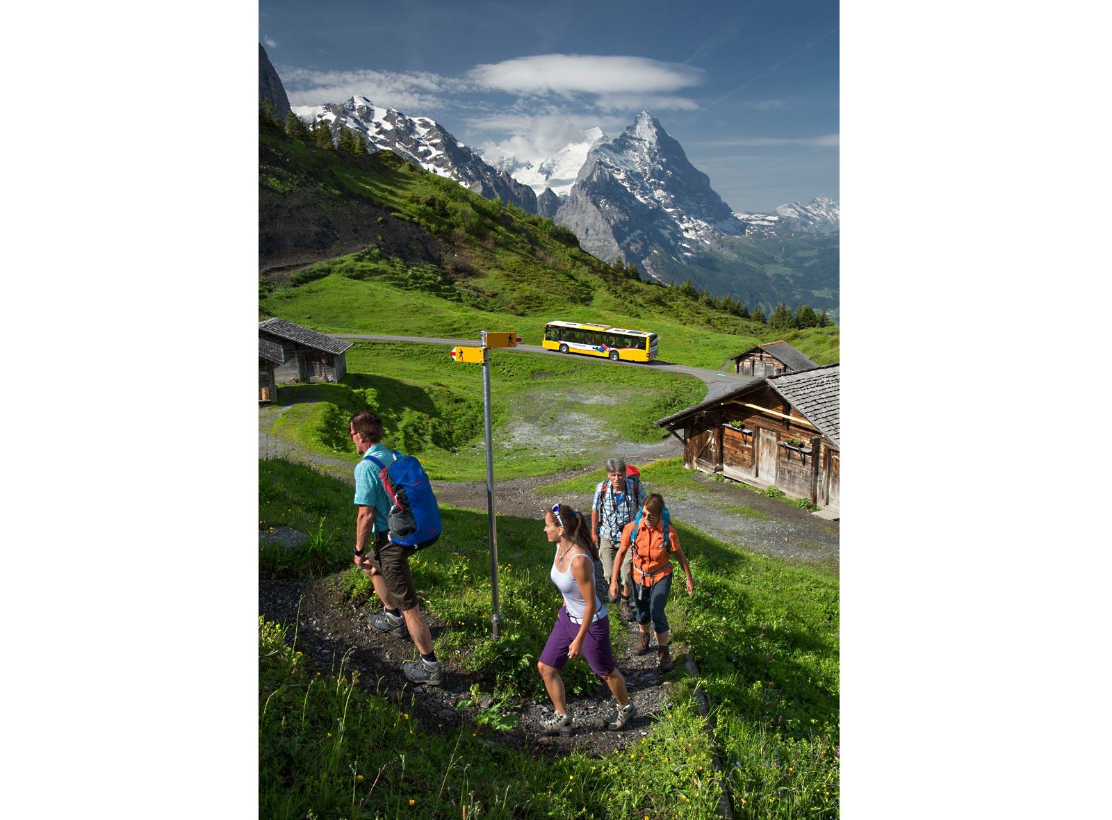 Wanderland Schweiz grosse Scheidegg