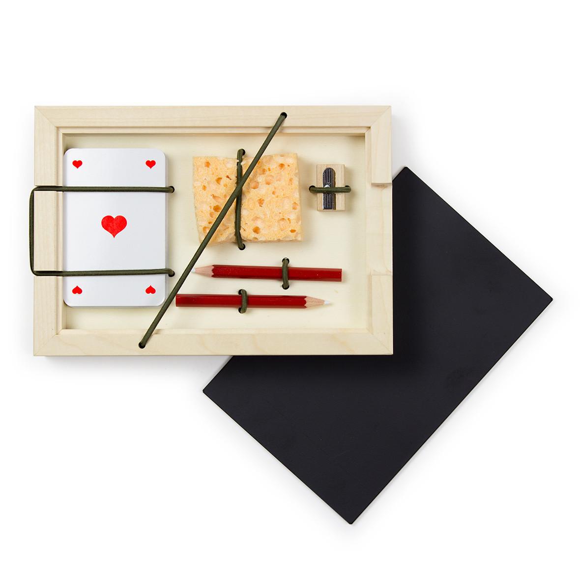 Jass-Set mit französischen Karten