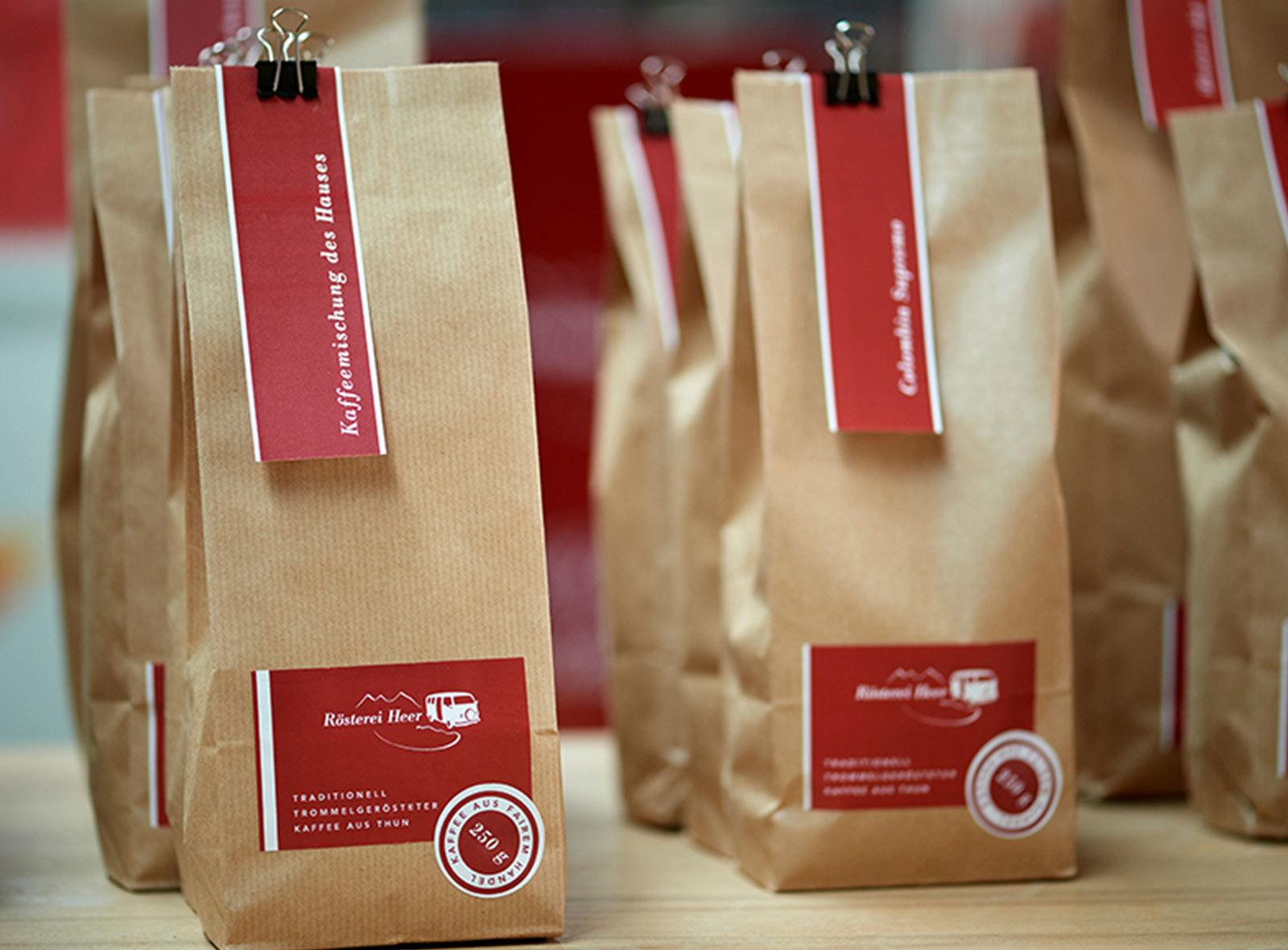 Kaffeemischung Heer aus Thun Swiss Food Design Market