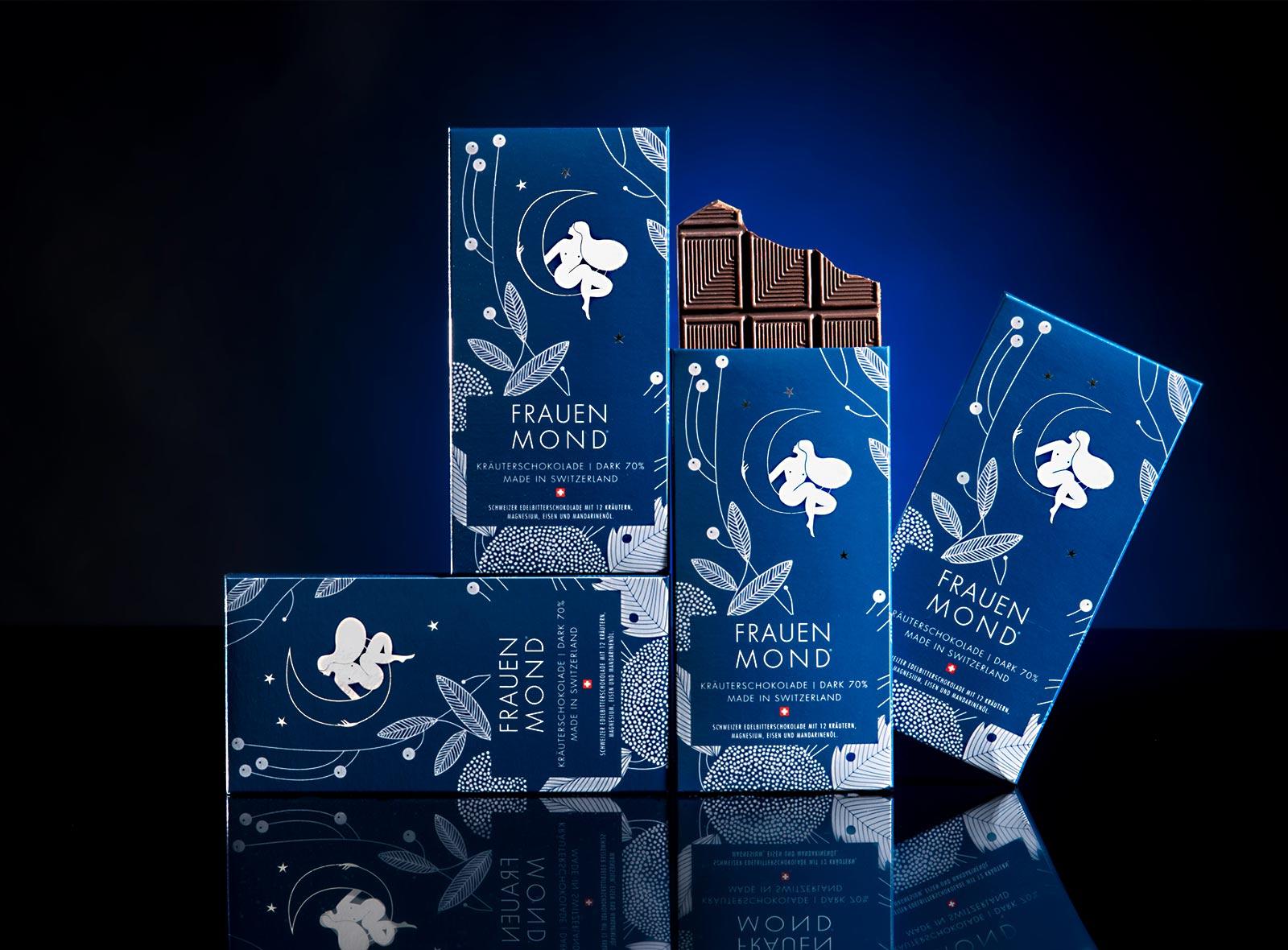 Schokolade für die Frauen, von Chocolate mit Herz
