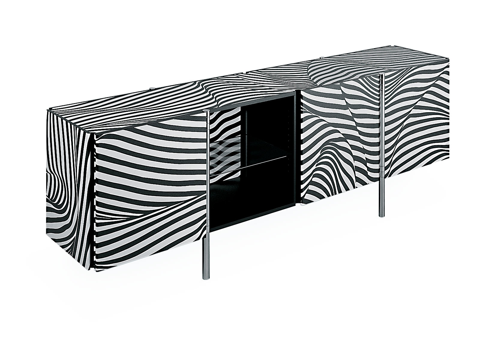 Swiss Design - Sideboard Stripe Amor Wogg