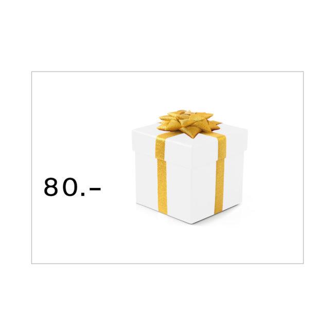 Geschenkgutschein Bestswiss CHF 80.–