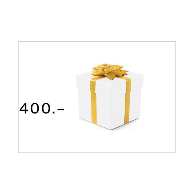 Geschenkgutschein Bestswiss CHF 400.–