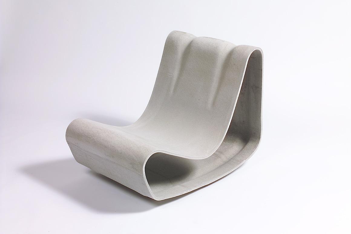 Guhl Stuhl von Eternit Schweizer Designklassiker