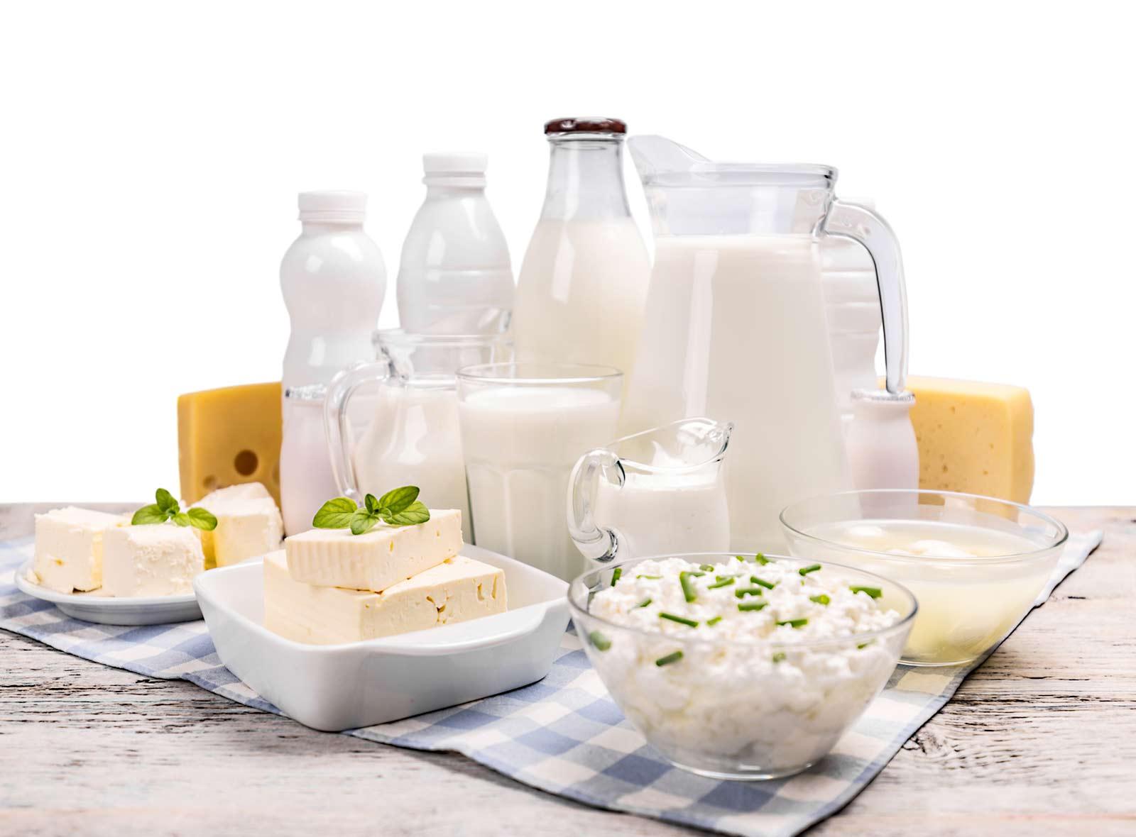 Bio-Milchprodukte aus nährstoffreicher Bio-Milch