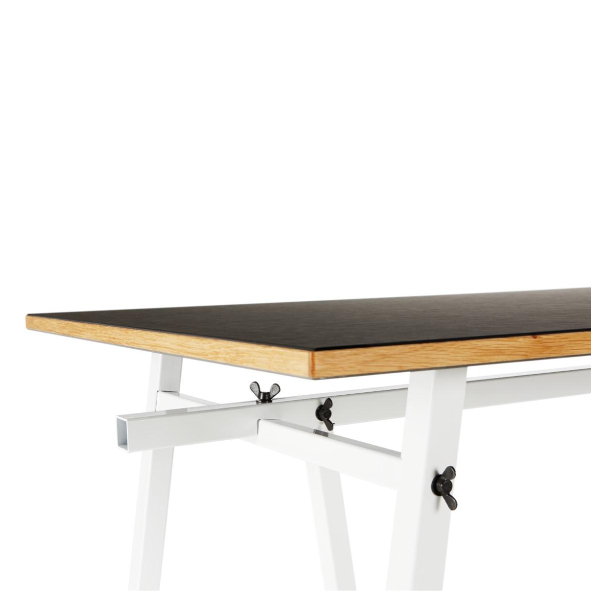 Ateliertisch Embru schwarz-weiss Platte – für den idealen Arbeitsplatz