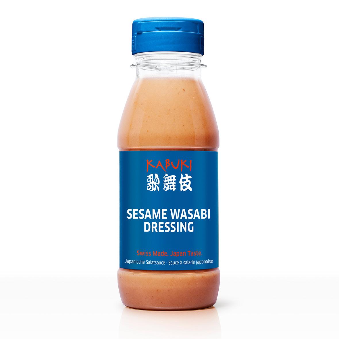 Salatsauce Kabuki Dressing Sesame Wasabi 270 ml