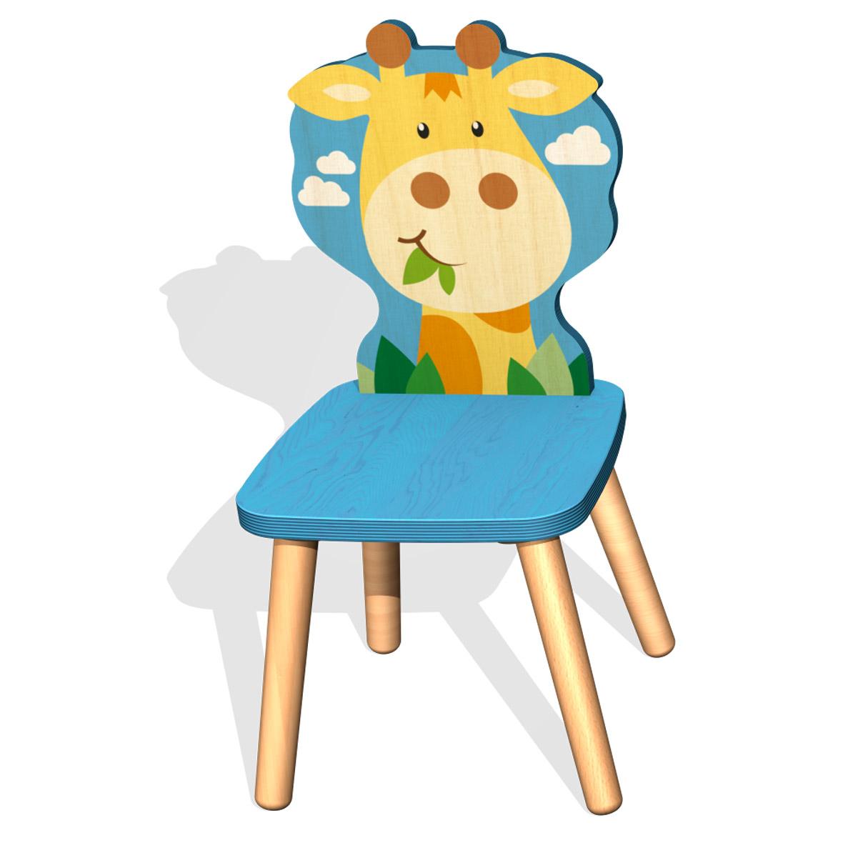 Kinderstuhl Giraffe von Weizenkorn