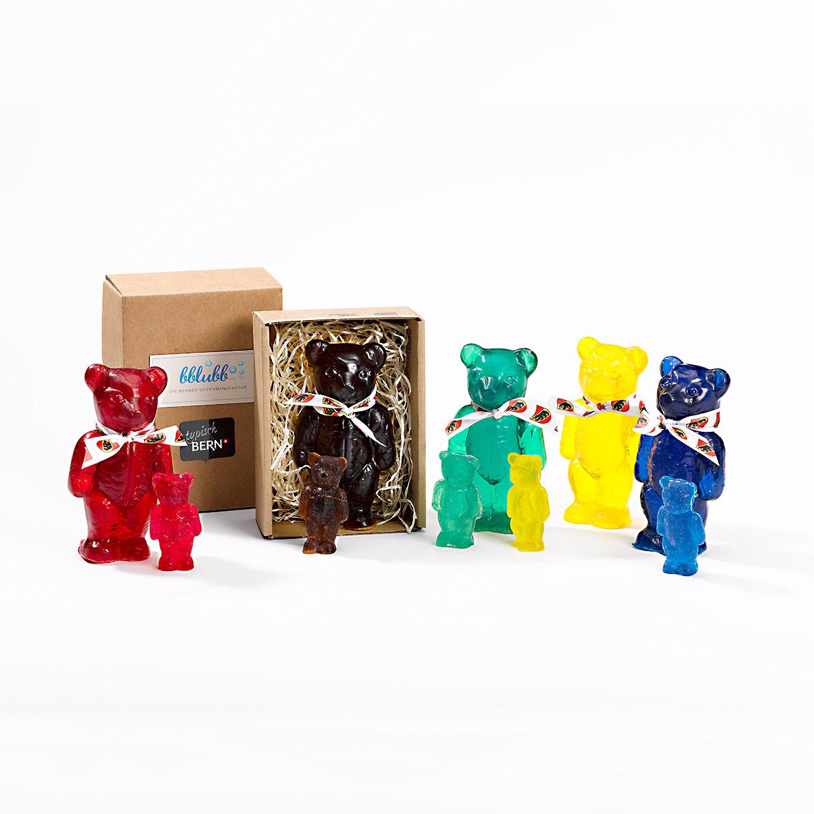 Berner Bärenfamilie von Seifenmanufaktur Bblubb