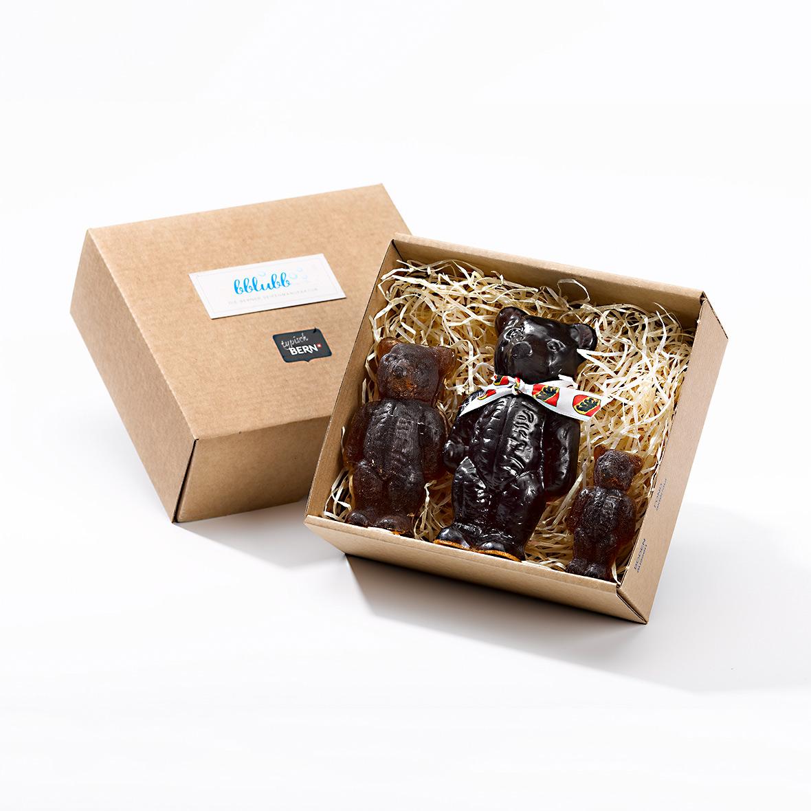 Berner Baerenfamilie von Seifenmanufaktur Bblubb