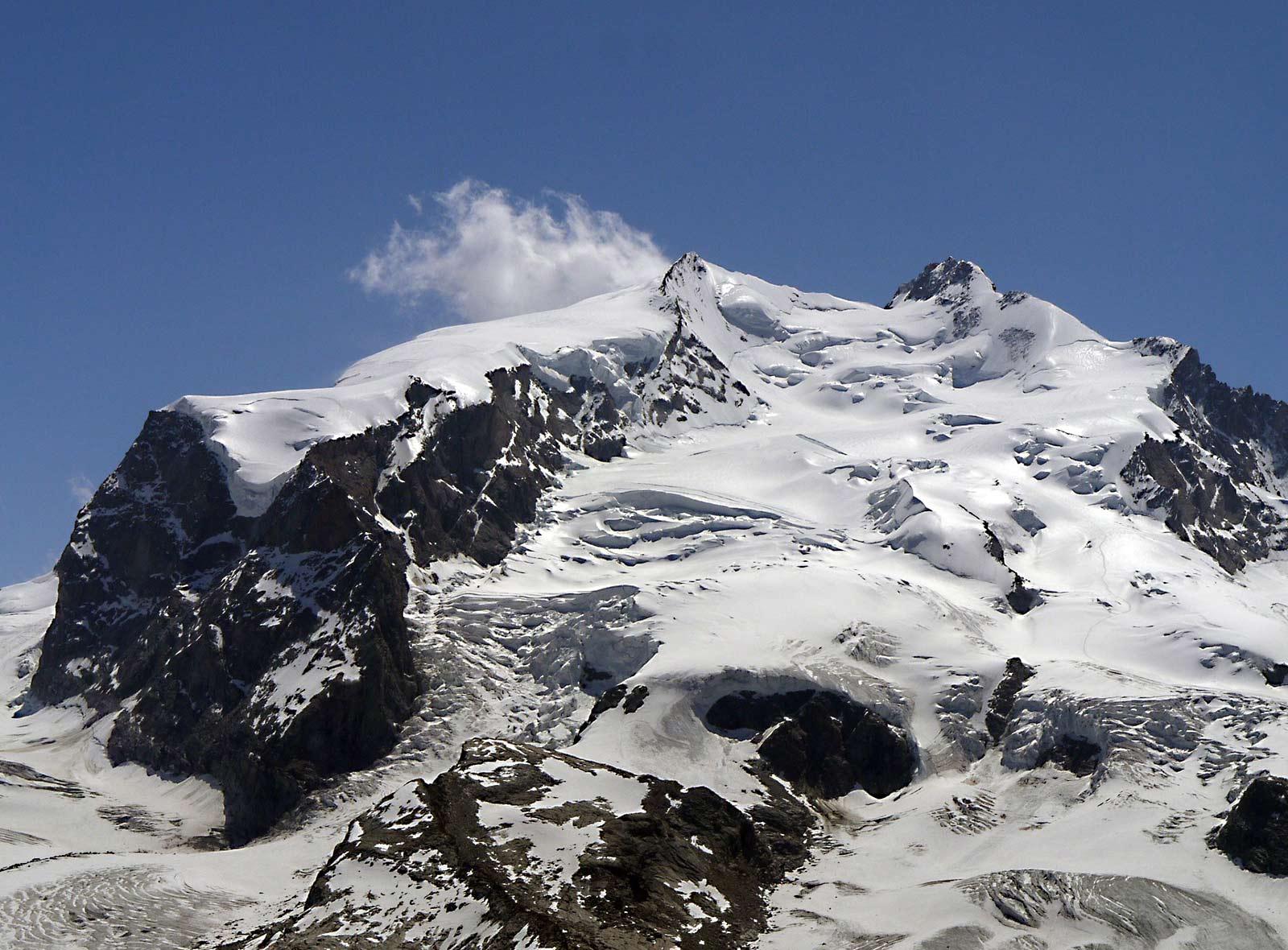 4000er in der Schweiz Dufourspitze, Monte-Rosa-Massiv
