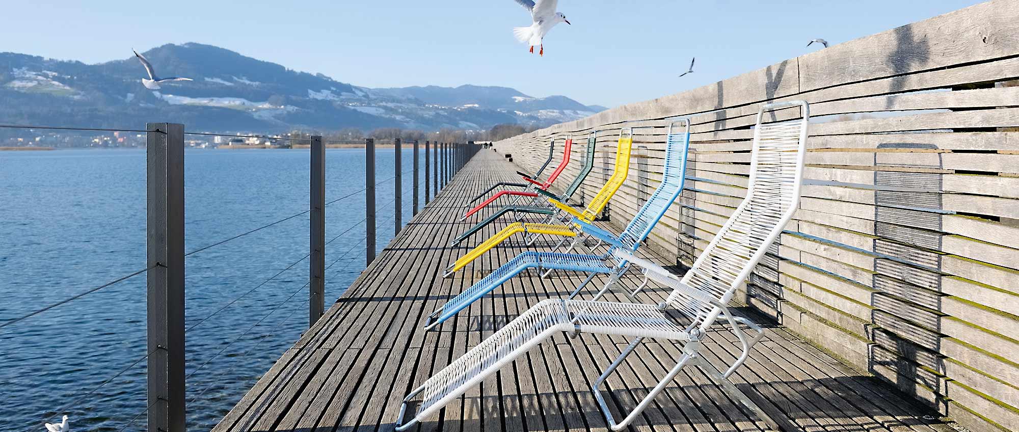Spaghetti Stuhl u2013 Altorfer Lounge Set + Altorfer Liegestuhl Bestswiss ~ 02231707_Altorfer Liegestuhl Neu Bespannen