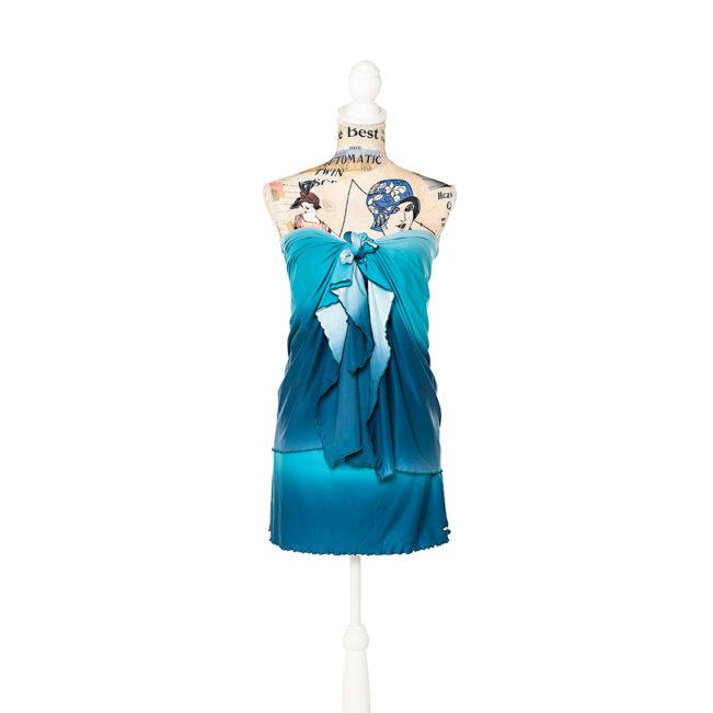 Pareo Skirt Blue Sea von Darcil