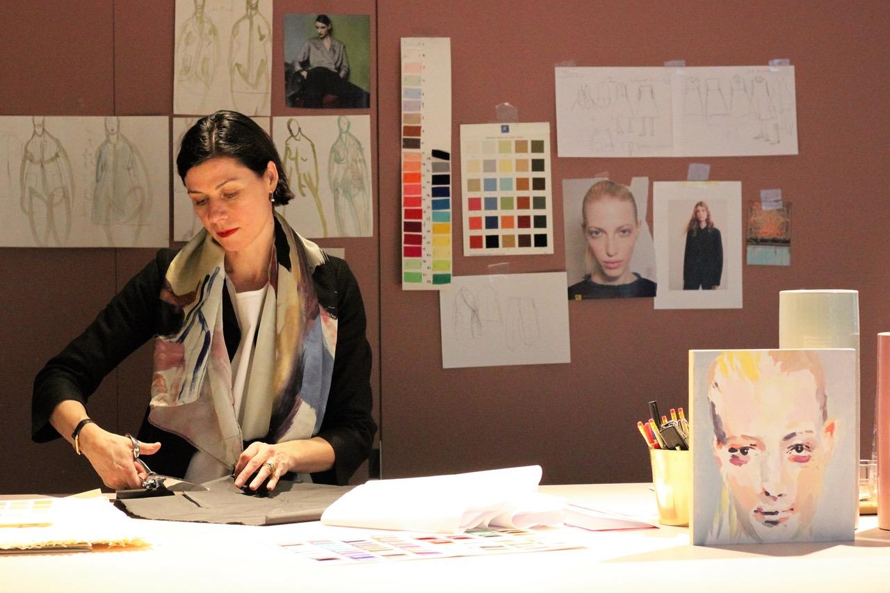 Modedesignerin Simone Klemm Atelier Zürich
