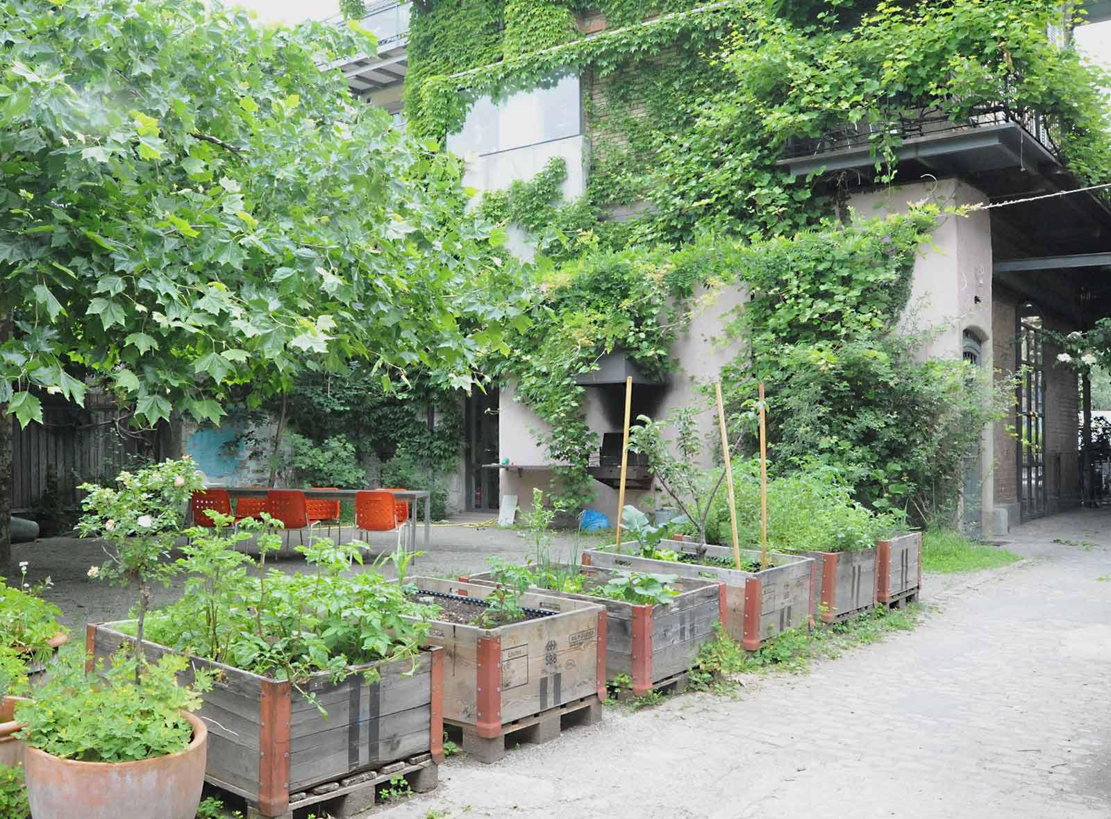 Urban Gardening Stadt Bern, Lorraine