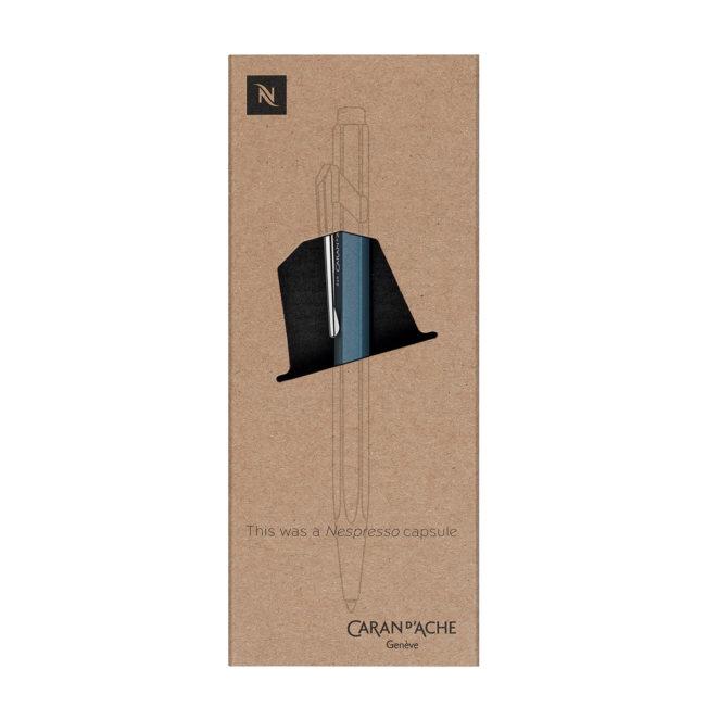 Kugelschreiber 849 von Caran d'Ache aus Nespresso Kapseln