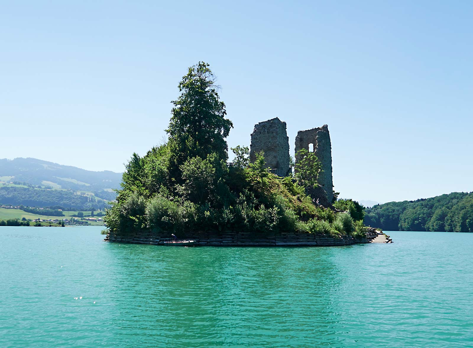 Die schönsten Inseln der Schweiz Herausgeber Schweizer Heimatschutz
