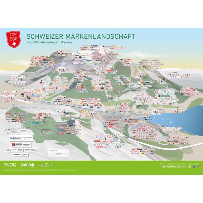 Schweizer Markenplakat 2018