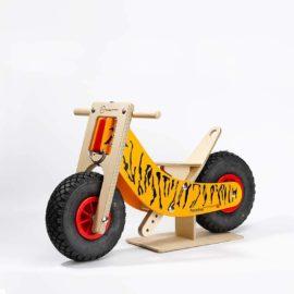 Swiss Walking Bike Tiger von Ahorn Holz und Spiel